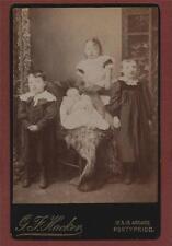 Pontypridd.  G F Hacker.  12 + 13 Arcade. Children Baby cabinet  photograph QD81