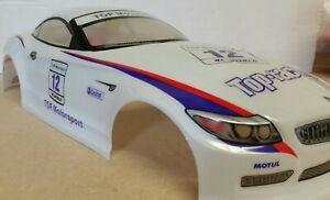 1/10 RC car 190mm on road drift BMW Z4 Body Shell White