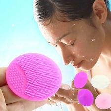 Wash Face Exfoliating Brush Facial Cleansing Pad Skin SPA Scrub Cleanser Tool