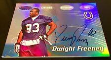 2002 Bowman's Best #132 Dwight Freeney Autograph True RC Syracuse Colts