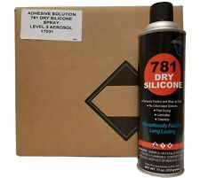New listing V&S #781 Premium Dry Silicone Spray Lubricant Case with 12 cans