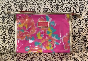 Lilly Pulitzer for Estee Lauder Makeup bag - Pink Floral ~ New