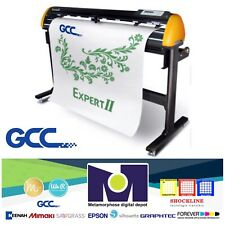 "GCC Expert II-52 Vinyl Cutter For Sign And HTV 52"" **FREE SHIPPING**"