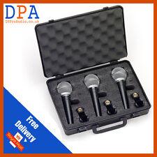 Samson R21 Cardiod Dynamic Microphone 3 Pack  | Dynamic Mic
