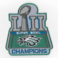 Philadelphia Eagles Super Bowl LII Champions Iron on Patches Emblem Patch D FN
