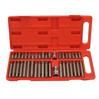40Pcs/Set Torx Hex Spline Socket Bit Set Tool Kit Screwdriver Tool Equipment