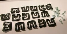 For FORD 1966-On Windshield & Rear Window Reveal Moulding Clips (15+15)