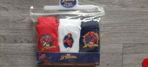 SPIDERMAN PACK OF 3 BRIEFS!