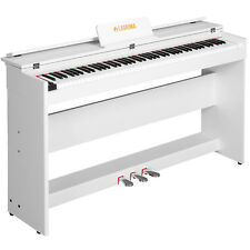 88 Key Piano Keyboard Electric Digital LCD  w/Cover+Stand+Adapter+3Pedal Board