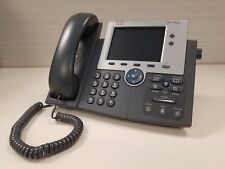 Refurbished Cisco CP-7945G Color Gigabit IP VoIP Phone Grade A Ready to Install