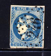 FRANCE 46Ba bleu foncé GC 246 AUTUN, SAÔNE-et-LOIRE. Cote: 50€. TRES B.Prix int.