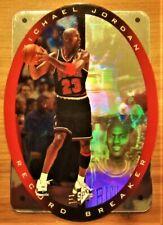 1996-97 SPX Michael Jordan Die Cut Holo Refractor Record Breaker Near Mint +