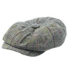 Mens Newsboy Beret Cabbie Hats Peaky Blinders Herringbone Gatsby Panel Flat Cap