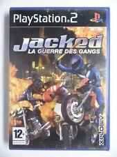 COMPLET jeu JACKED LA GUERRE DES GANGS sur playstation 2 PS2 francais juego TBE