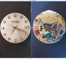 wyler vetta electronic wq 80 esa 9150 movimento movement dial tige watch vintage
