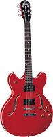 New Oscar Schmidt OE30 Semi-Hollowbody Electric Guitar Sunburst,Black,Cherry