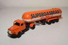 X ARPRA BRAZIL SCANIA VABIS TRUCK WITH TRAILER SUPERGASBRAS EXCELLENT CONDITION