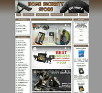 HOME SECURITY BUSINESS WEBSITE FOR SALE.