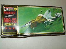 HASEGAWA Model Kit - MIG-25 Foxbat A Russian Plane 1/72 Unassembled # 130