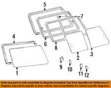 TOYOTA OEM 91-97 Land Cruiser-Run Channel Left 6275660010