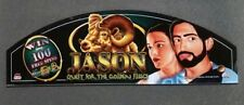 Bally Cinevision Video Slot Machine Glass JASON - QUEST FOR THE GOLDEN FLEECE