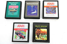 5 x Vintage ATARI 2600 Spiele 80er Jahre