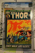 """Thor #203 CGC 9.0 2nd appearance of Ego-Prime Black boarder """"They walk like GODS"""