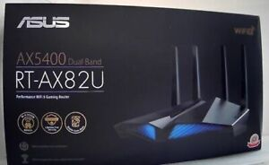 NEW OPEN BOX Asus RT-AX82U AX5400 Dual-Band WiFi 6 Gaming Router