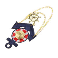 Navy Wind Anchor Button-art Jewelry Brooch Pins Badge Corsage Men and Women