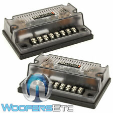 2 MB QUART CROSSOVERS DXD216 FOR CAR COMPONENT SPEAKERS TWEETERS MIDRANGES NEW