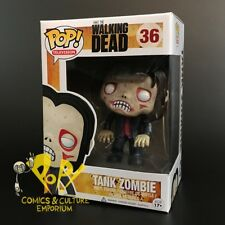 Funko THE WALKING DEAD Pop Vinyl Figure #36 TANK ZOMBIE Sold Out VAULTED Nice!