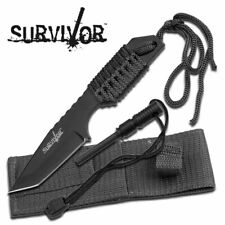 "SURVIVOR HK-106320B FIXED BLADE KNIFE 7"" OVERALL"