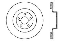 SportStop XDrilled Brake Rotor fits 2001-2008 Subaru Impreza Forester Outback  S