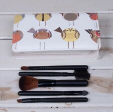 Soul Birds Make-up Set Kit Zipped pouch with mirror Nice gift 16 x 10 x 3cm New