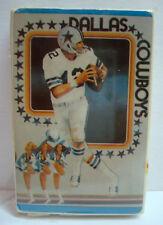 Dallas Cowboys Playing Cards - Roger Staubach - World Champions - 70s - NOS Rare