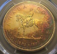 1973 Canada R.C.M.P. Silver Dollar PCGS SP-66, Buy 3 Get $5 Off!! R6451