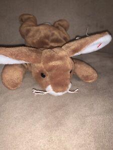 Ears (rabbit) Ty Beanie Baby. PVC Pellets