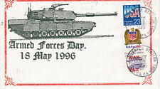 POSTAL HISTORY FIRST DAY EVENT COVER ARMED FORCES DAY 1996 UNK CACHET MAKER WAR