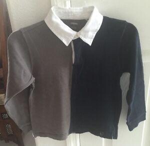 Gymboree Boys Long Sleeve Polo Shirt Size 7