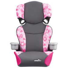 CHILD CAR SEAT Girls Safety Vehicle Kid's Booster Chair Pink High Back Toddlers