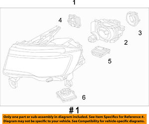 Jeep CHRYSLER OEM 2018 Grand Cherokee-Headlight Assembly 68266649AF