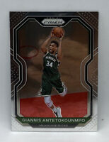 Giannis Antetokounmpo 2020-21 20-21 Panini Prizm Base Milwaukee Bucks #111