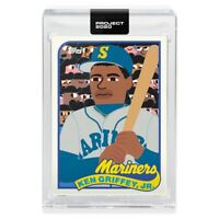 Topps PROJECT 2020 Card 88 - 1989 Ken Griffey Jr. by Keith Shore PRESELL 📈🔥