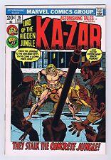 Astonishing Tales #15 Ka-Zar Appearance 1972 VF/NM Marvel Comics HG Bronze Age