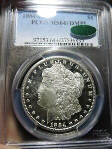 1884-CC MORGAN DOLLAR---PCGS MS64+ DMPL---BLAST WHITE---CAC APPROVED---SCARCE!!!