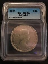 1964 Canadian $1 Coin MS61 (C289)