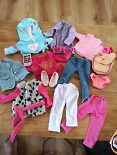 Bundle Of Dolls Clothes 18 inch Dolls fits Our Generation/ Design A Friend