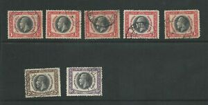 SPUTH WEST AFRICA 1935 SILVER JUBILEE USED VALUES