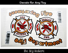 New Decals Stickers Fire Truck Engine for Car Truck Cozy Coupe Bumper Graphic
