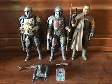 "Star Wars The Black Series Mandalorian Child Grogu Greef Karga Hasbro 6"" Figures"